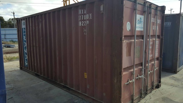 Get second hand 20ft Containers for sale in New Zealand