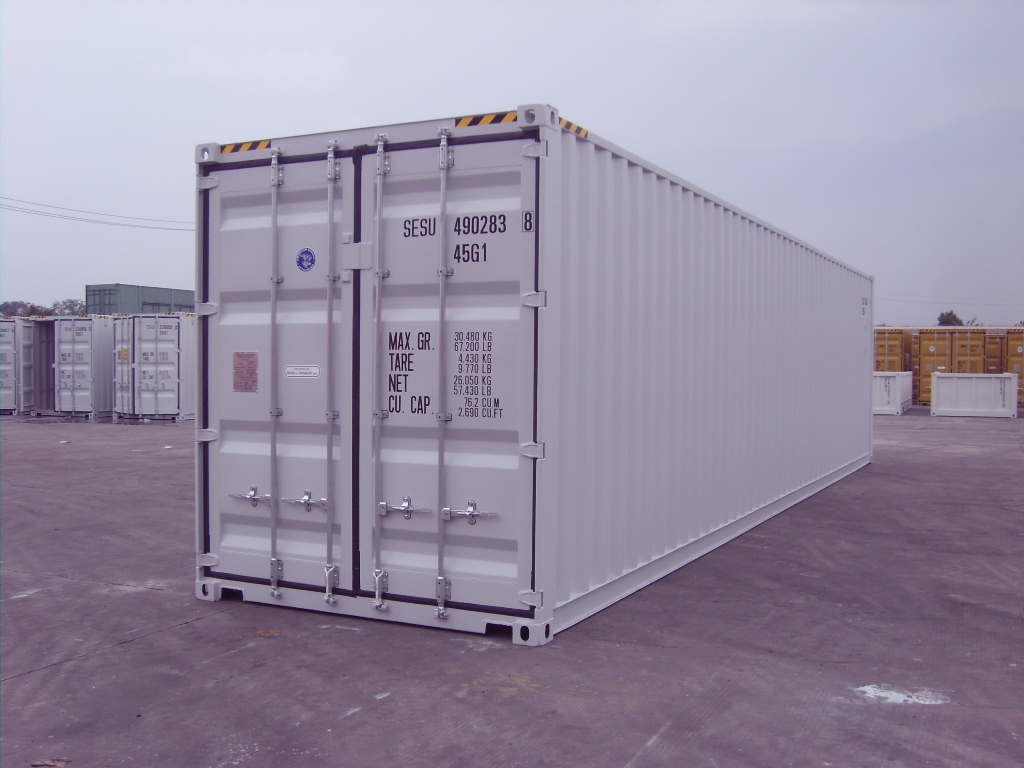 40ft HC 9'6 High New one trip container