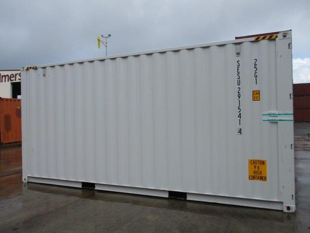 20FT 9'6 High Cube new one trip shipping container