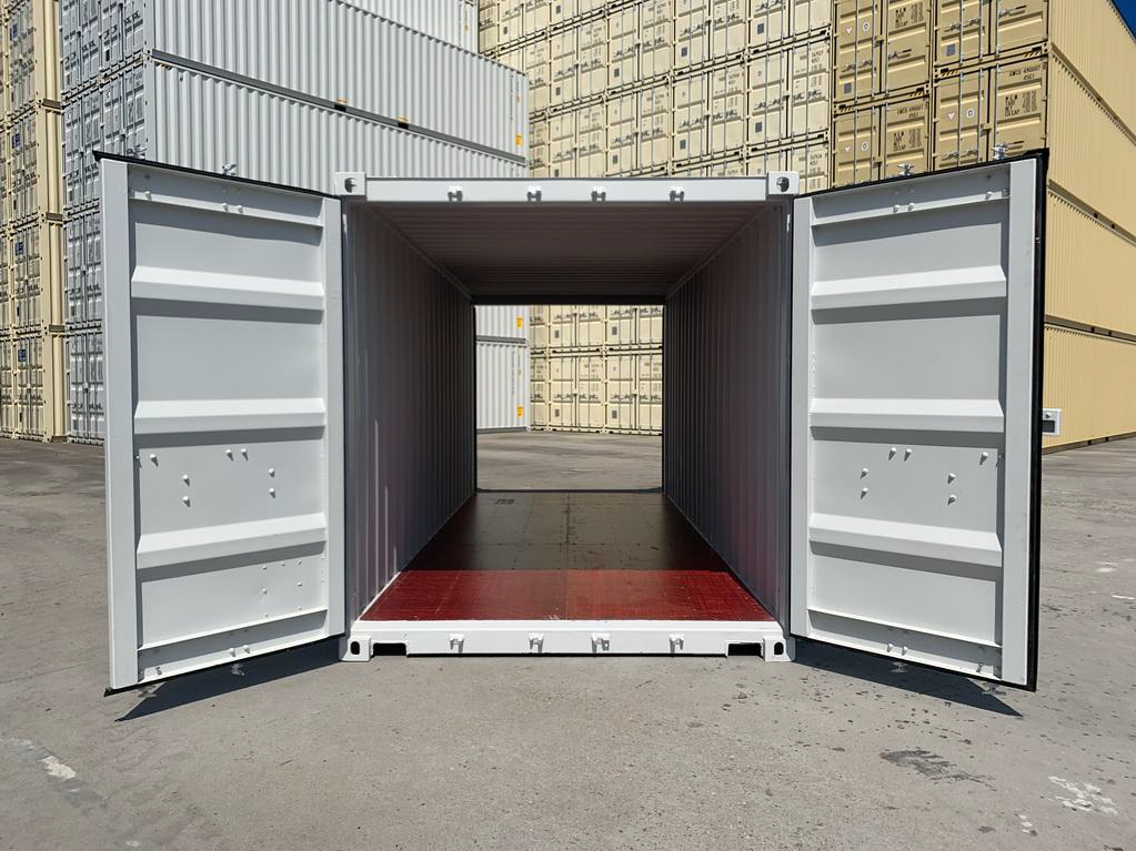 20' 8'6 New one trip Double doors