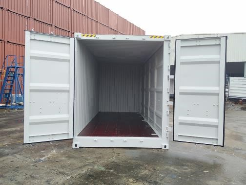 20' HC Openside containers