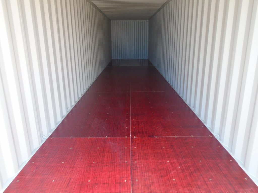 20FT 8'6 High new one trip shipping container