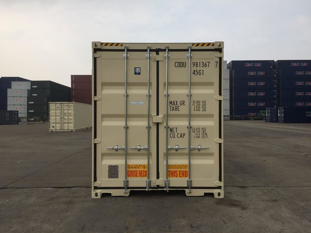 40ft High Cube 9'6 high Double doors new One trip