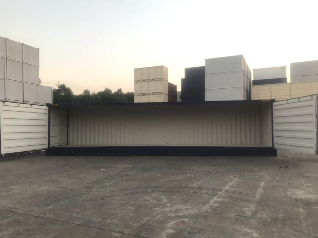 40FT HIGH CUBE New one trip Open side containers