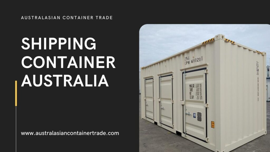 Determining the 8ft Shipping Container Price Australia